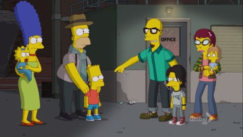 Simpsons - The Day the Earth Stood Cool