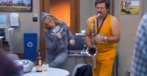 Leslie&Ron&Sax
