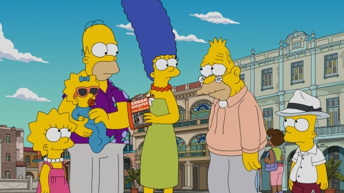 "THE SIMPSONS: When the Retirement Castle and the V.A. Hospital cannot solve Grampa's health issues, the Simpsons decide to take a family trip to Cuba to get Grampa cheap medical care, on the all-new ""Havana Wild Weekend"" episode airing Sunday, Nov. 13, (8:00-8:31 PM ET/PT). THE SIMPSONS ™ and © 2016 TCFFC ALL RIGHTS RESERVED. CR: FOX"