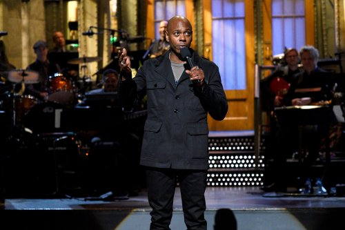 "SATURDAY NIGHT LIVE -- ""Dave Chappelle"" Episode 1710 -- Pictured: Host Dave Chappelle during the monologue on November 12, 2016 -- (Photo by: Will Heath/NBC)"