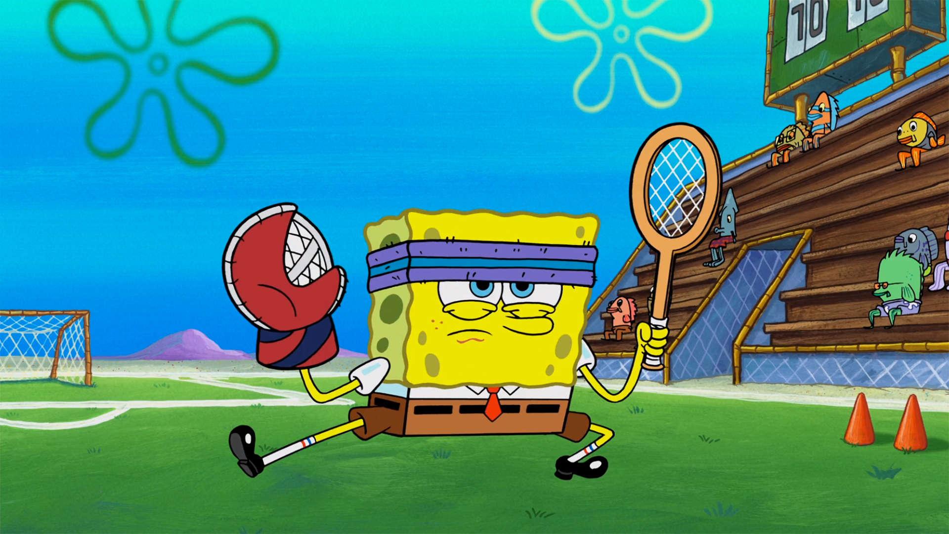 "Spongebob Squarepants Review: ""Spin the Bottle; Sportz ..."